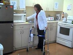 How to Use Adaptive Equipment for Moving Around in the Kitchen.