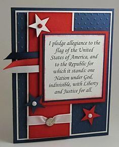 Patriotic Card for U.S. Citizenship
