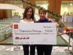 Congratulations to our sister organization, NeighborWorks Anchorage. That's a big check!