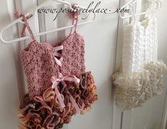 Crochet Baby TutuPositively Lace