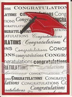 card idea, graduat card, graduat ill, bloggger paradis, scrapbook graduation pages, cottages, graduation cards, fonts, congratul card