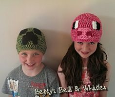 Ravelry: Minecraft inspired pig hat pattern by Elizabeth Dodd