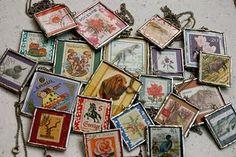 postage stamp  whimsicaluna.etsy.com
