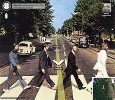 The Craziest Google Street View Images EVER! Hit the pic to see all the #lol images! #Beatles #spon