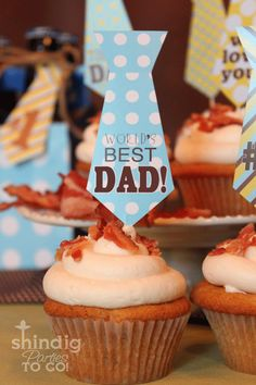 Father's Day cupcakes!!