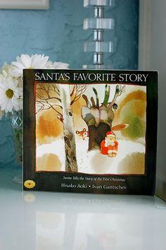 Santa tells about the 1st Christmas: Santa & Jesus