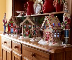 Adorable Lit Gingerbread house comes in your choice of colors; Red, Brown or White. So Sweet!  H200692  http://qvc.co/ShopValerie