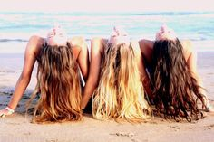 mermaids in the sun