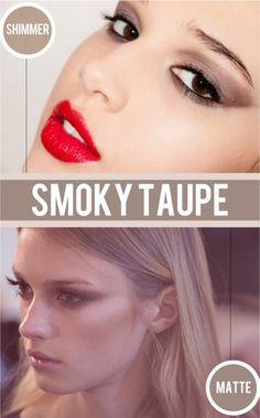 smoky eye!