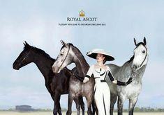 Royal Ascot Campaign Image: Photography: Simon Proctor. Millinery: Stephen Jones