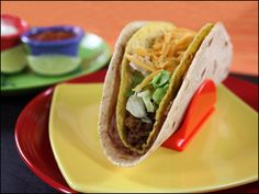 Twice-as-Nice Guapo Taco  |  Hungry Girl  |  300 Under 300 |  5 WWP+