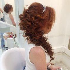 #bridesmaid #hair