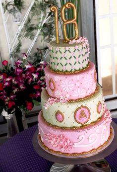 Tartas de cumpleaños - Birthday Cake - Debutante Cake
