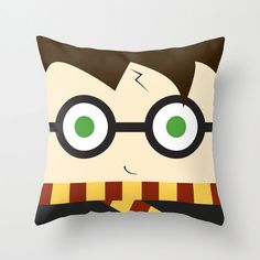 Harry Potter Pillow plush decoration inspired by by telahmarie, $25.00