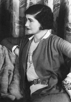 Coco Chanel ~ 1931.