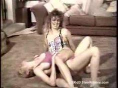 Intense Female Wrestling Video
