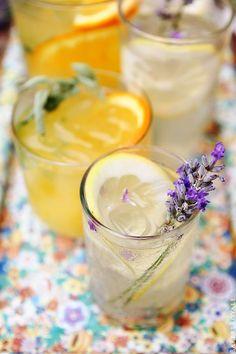 Citrus and Herb Vodka Tonics