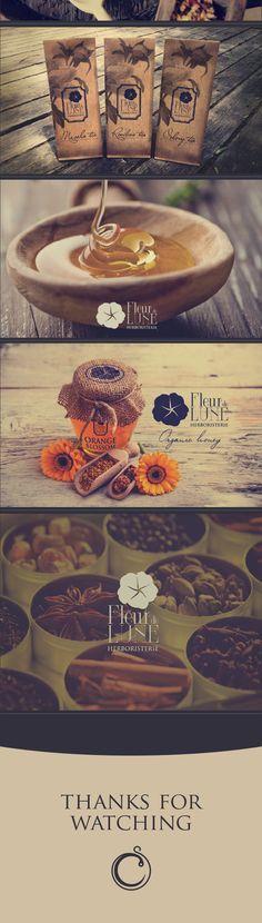 Fleur de Lune / Branding on Behance