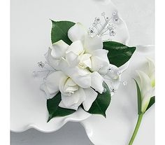 Gardenia Corsage for the Grandmothers