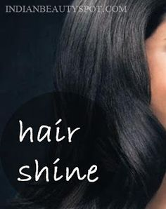 Natural hair shine serum for soft, smooth and shiny hair- homemade beauty