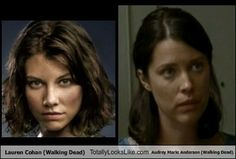 Audrey Marie Anderson and lauren cohan sisters