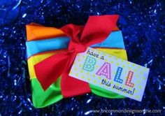 Beach Ball Party Favor