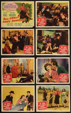 MISS GRANT TAKES RICHMOND '49 Lucille Ball, William Holden, James Gleason!