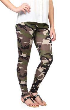 Deb Shops #camo #leggings $11.17