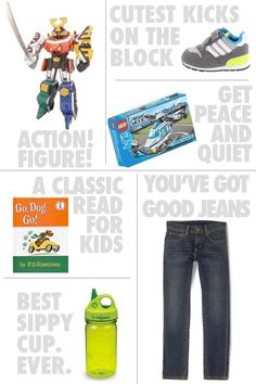 Love this gift guide for Boys