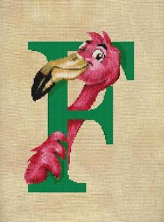 F -is for Flamingo