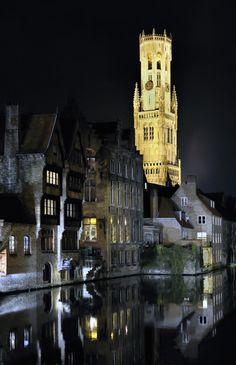 Brugge by night - Belgium
