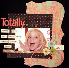 Scrapbook page ideas