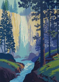 Andrew Davidson - Waterfall