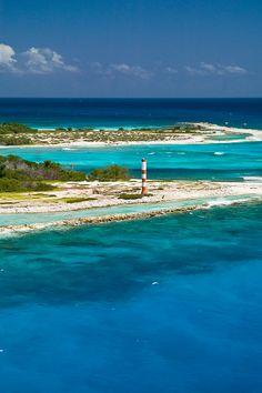 Isla de La Tortuga, antiguo refugio de piratas, en el Mar Caribe, Venezuela.