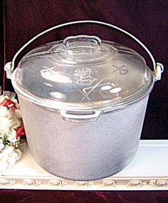 Vintage Guardian Service Ware Canning Cooker Dutch Oven Stock Pot