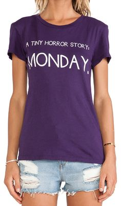 Yes - Mondays can be a horror story! http://rstyle.me/n/m26uznyg6