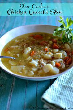 Slow Cooker Chicken & Gnocchi Stew