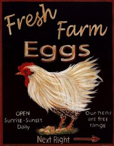 **Fresh eggs