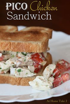 Pico Chicken Salad. ~ This recipe is a taste of summer!