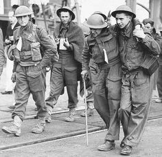 Weary troops arrive home after being rescued from Dunkirk