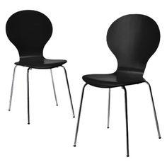 Black kitchen chairs Target - 64.00