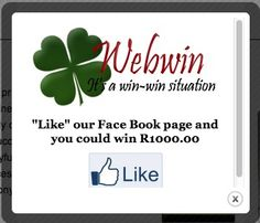 Popup box http://webwin.co.za/