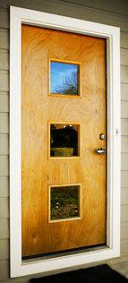 Exterior doors on pinterest modern door screen doors for 1950s front door styles
