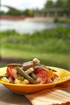 Antipasto Salad | fullandcontent.com