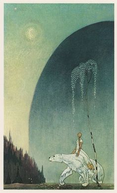 Hansel and Gretel / the Brothers Grimm, (by Danish-American illustrator Kay Nielsen, 1925)