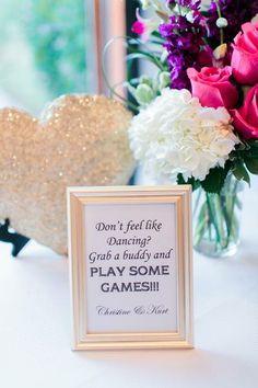wedding games