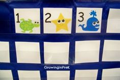 Ocean Calendar (ABC Pattern)  wish I had found these last week
