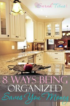 Want to save some extra cash? Read these how being organized can save you money! I really need to do #1