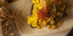 Migas vegan breakfast, miga, plant strong, engin, diets, food eat, breakfast dishes, vegan recip, breakfast burritos
