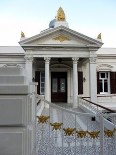 Highly decorated freemason lodge in Istanbul, Turkey